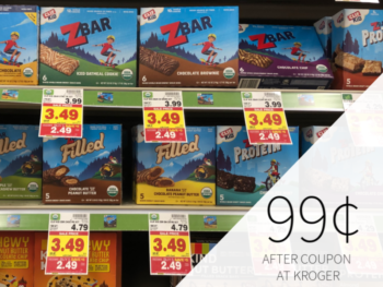 Super Deal On Clif Kid Z Bar - Boxes Just 99¢ During The