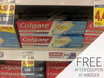 New Colgate Coupon - Optic White Toothpaste Just $1.32 Per Tube At Kroger
