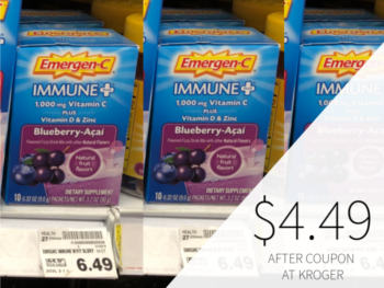 New Emergen-C Coupon -