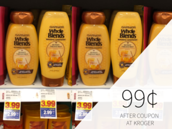 New Garnier Whole Blends Coupon -