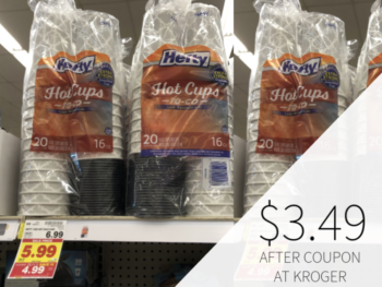 Hefty Hot Cups Only .49 At Kroger