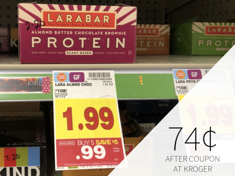 Larabar Protein Bar Only 74¢ At Kroger