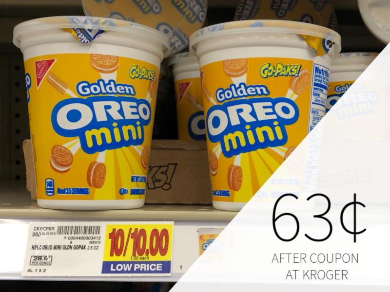 Nabisco Go-Paks Just 63¢ At Kroger