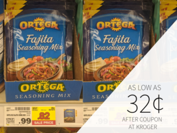 Ortega Products As Low As 32¢ At Kroger