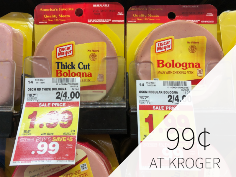 Oscar Mayer Products Only 99¢ At Kroger 1