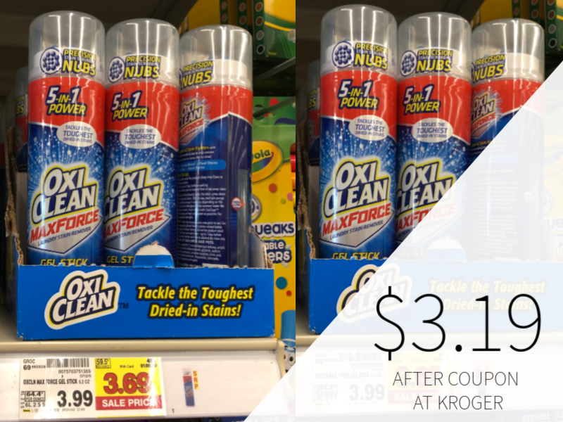 New Oxiclean Coupons Mean Great Deals At Kroger