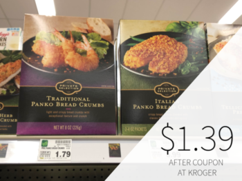 Private Selection Panko Bread Crumbs Only $1.39 At Kroger
