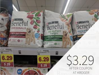 Purina Beneful Dry Dog Food Just $3.29 At Kroger