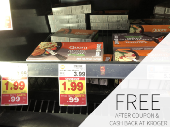 Quorn Meatless Products As Low As FREE During The Kroger Mega Sale