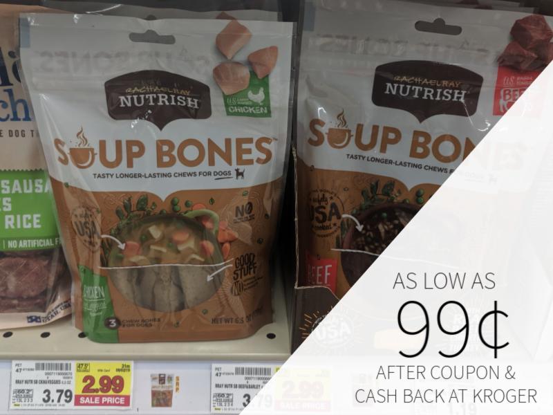 Rachael Ray Nutrish Soup Bones As Low As