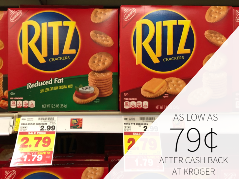 Nabisco Ritz Toasted Chips As Low As $1.04 At Kroger 2