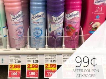 Skintimate & Edge Shave Gel Just 99¢ During The Kroger Mega Sale