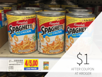 New SpaghettiOs Coupon -