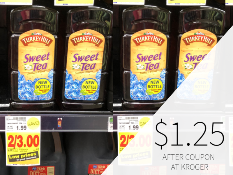Turkey Hill Sweet Tea Only $