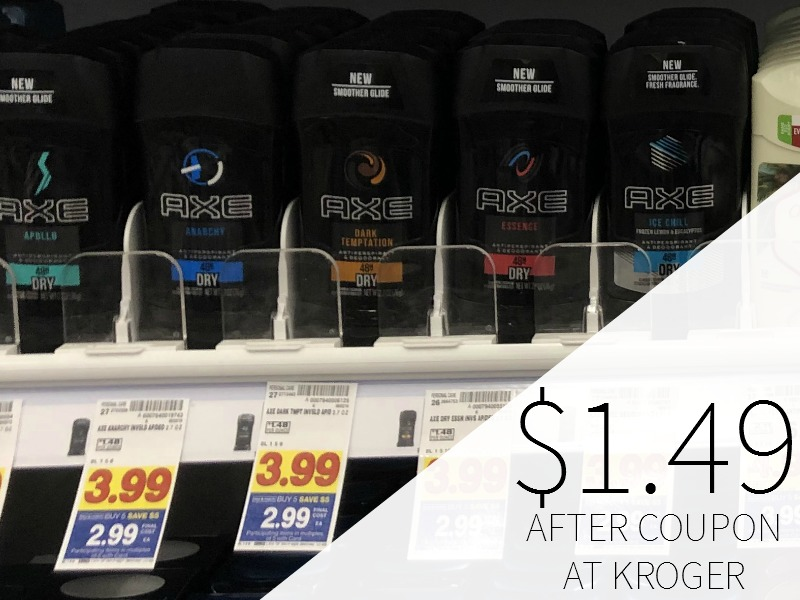 Axe Deodorant Just $1.49 During The Kroger Mega Sale