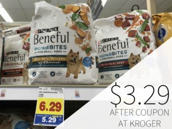 Purina Beneful Dog Food As Low As $3.29 During The Kroger Mega Sale
