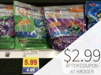 Gain Flings Just $2.99 During The Kroger Mega Sale