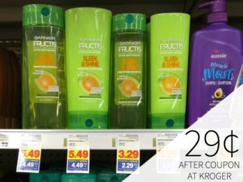 Garnier Fructis Haircare Just 29¢ At Kroger (Whole Blends Just 99¢) 1