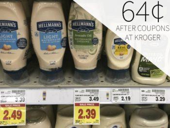 Hellmann's Avacado Oil Mayo Just 64¢ At Kroger