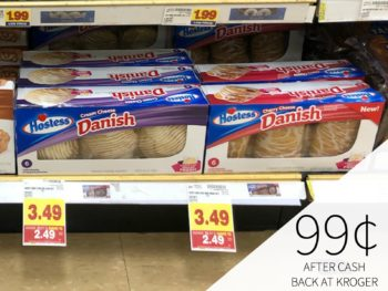 Hostess Danish Products Just $1.74 At Kroger (Half Price)