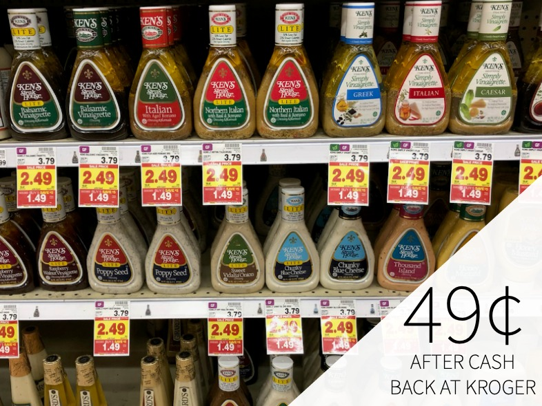 Ken's Salad Dressing Just 49¢ During The Kroger Mega Sale