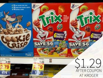 Stock Up On General Mills Cereals For Just $1.29 Per Box At Kroger