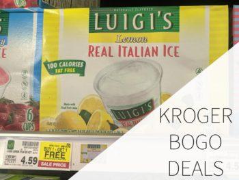 Kroger BOGO Deals Week Of 8/23