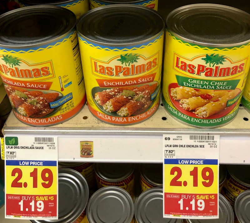 Las Palmas Enchilada Sauce Just 69¢ Per Can During The Kroger Mega Sale 1