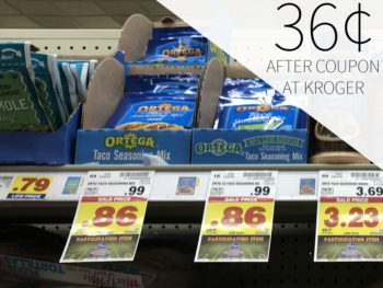 Ortega Products As Low As 36¢ At Kroger