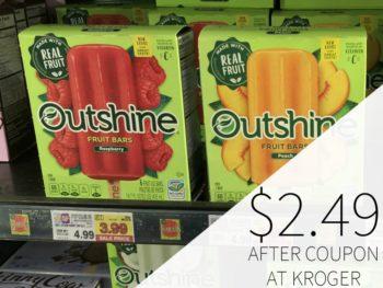 Outshine Fruit Bars Just $2.49 At Kroger