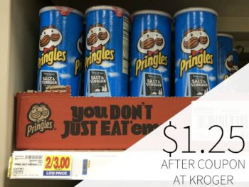 photo regarding Pringles Printable Coupons titled Pringles coupon I Center Kroger