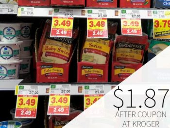 Sargento Cheese Slices Just $1.87 Per Bag During The Kroger Mega Sale