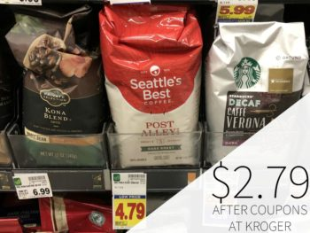 Seattle's Best Coffee As Low As $2.79 At Kroger