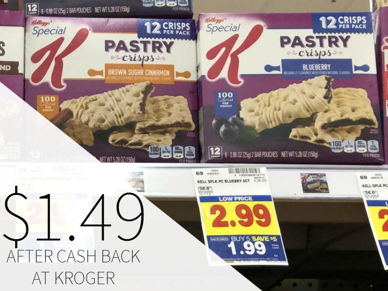 Special K Pastry Crisps Just .49 During The Kroger Mega Sale