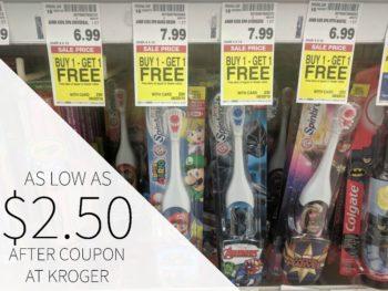 Arm & Hammer Spinbrush Just $2.50 At Kroger