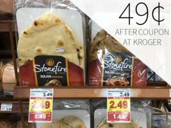 Stonefire Naan Just 49¢ During The Kroger Mega Sale 1