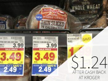 Pepperidge Farm Whole Grain Thin Sliced Bread Just $1.24 At Kroger