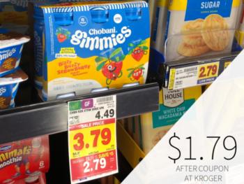 Chobani Gimmies Drinkable Yogurt Just $1.79 At Kroger