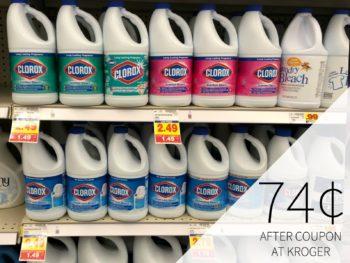 Clorox Bleach As Low As 74¢ At Kroger