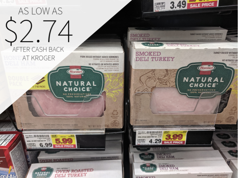 Hormel Natural Choice Lunchmeat As Low As $2.74 At Kroger