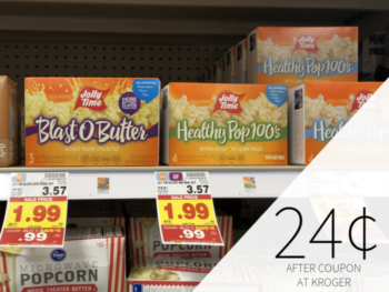Jolly Time Popcorn Just 24¢ At Kroger