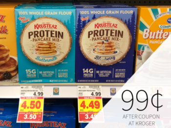 Krusteaz Protein Pancake Mix Only 99¢ At Kroger