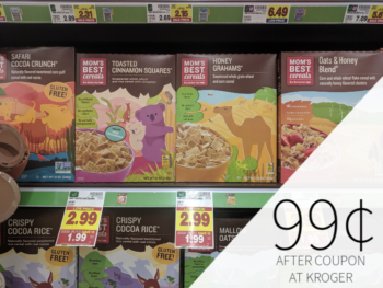Barbara's & Mom's Best Cereal Just 99¢ At Kroger