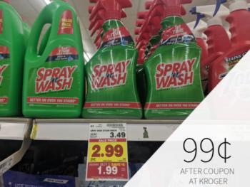 Spray N Wash Coupon I Heart Kroger