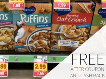 Barbara's Cereal FREE During The Kroger Mega Sale