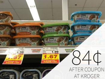 Purina Beneful Wet Dog Food Just 84¢ Each At Kroger