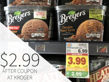 Save on Ice Cream With The New Digital Coupons At Kroger