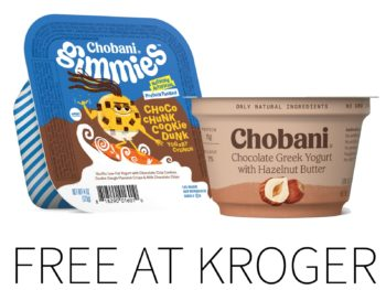 Kroger Free Friday Download - Free Chobani Greek Yogurt With Nut Butter On The Bottom Or Chobani Gimmies Crunch