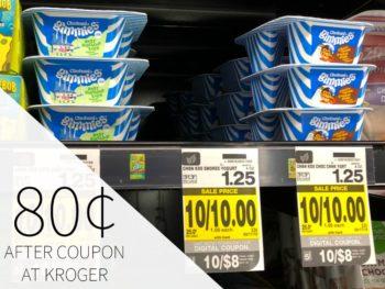 Chobani Gimmies Yogurt As Low As 80¢ Each At Kroger