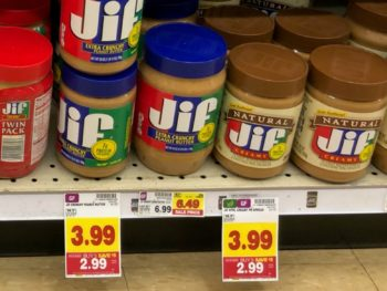 Nice Price On Smucker's Jelly & Jif Peanut Butter At Kroger